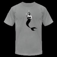 T-Shirts ~ Men's T-Shirt by American Apparel ~ [mermaid]