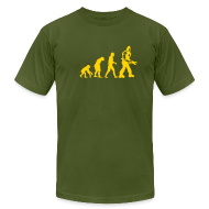 T-Shirts ~ Men's T-Shirt by American Apparel ~ [evolution]