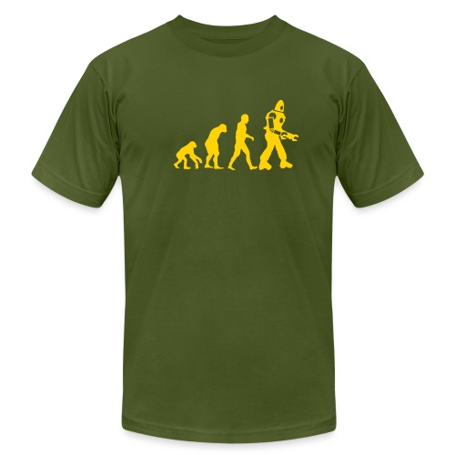 [evolution] - Men's T-Shirt by American Apparel