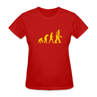 T-Shirts ~ Women's T-Shirt ~ [evolution]
