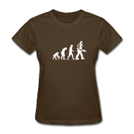 Women's T-Shirts ~ Women's T-Shirt ~ [evolution]