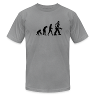 T-Shirts ~ Men's T-Shirt by American Apparel ~ [evolution]
