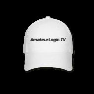 Sportswear ~ Baseball Cap ~ AmateurLogic.TV Ball Cap (Black Logo)