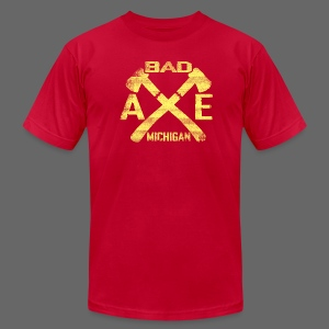 Bad Axe, Michigan - Men's T-Shirt by American Apparel