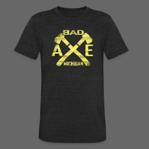 Bad Axe, Michigan - Unisex Tri-Blend T-Shirt by American Apparel