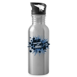 Together to we Rise Stars Water Bottle - Water Bottle