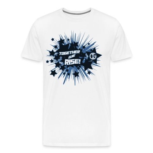 Together to we Rise Stars - Men's Premium T-Shirt