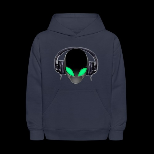 Alien Contact Music Lover DJ - Kids' Hoodie