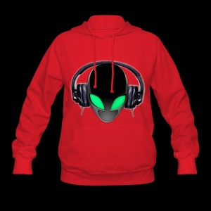 Alien Contact Music Lover DJ - Women's Hoodie