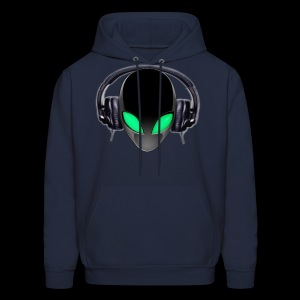 Alien Contact Music Lover DJ - Men's Hoodie