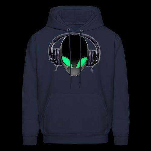 Alien Contact Music Lover DJ - Men's Hoodie