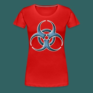 Bio-hazard Stylized  - Women's Premium T-Shirt