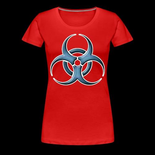 Bio-hazard Stylized  - Women's Premium T-Shirt