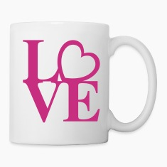 Heart Love Art Bottles & Mugs