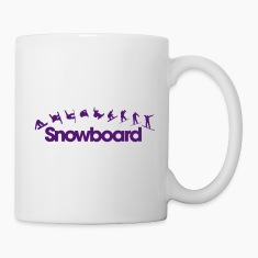 Snowboard Bottles & Mugs