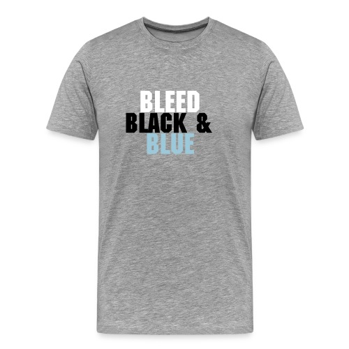Bleed Black & Blue Carolina - Men's Premium T-Shirt