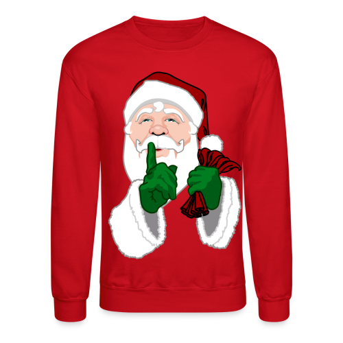 Santa Sweatshirt Festive Christmas Sweaters  - Crewneck Sweatshirt