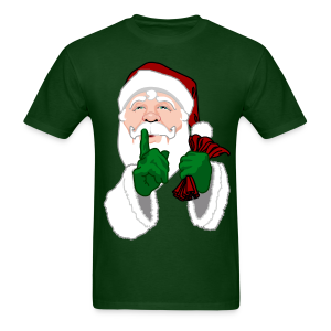 Santa Clause T-shirt Men's Festive Christmas Shirt - Men's T-Shirt