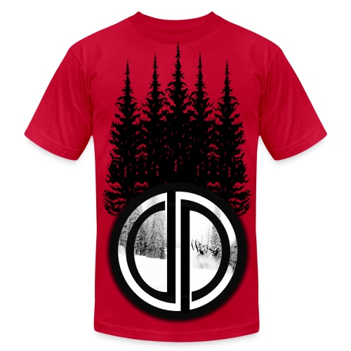 Divine Dizines Winter Trees - Men's Fine Jersey T-Shirt