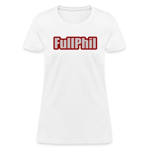 FullPhil logo - T-shirt pour femmes