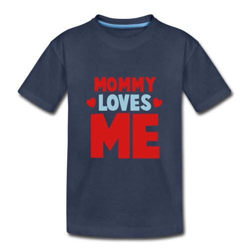 MOMMA'S BOY - Kids' Premium T-Shirt