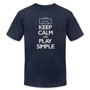 Play Simple Men's Tee (Fundraising Item) - Men's T-Shirt by American Apparel