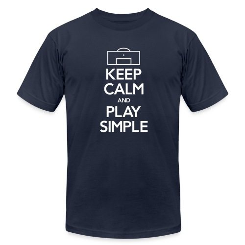Play Simple Men's Tee (Fundraising Item) - Men's Fine Jersey T-Shirt
