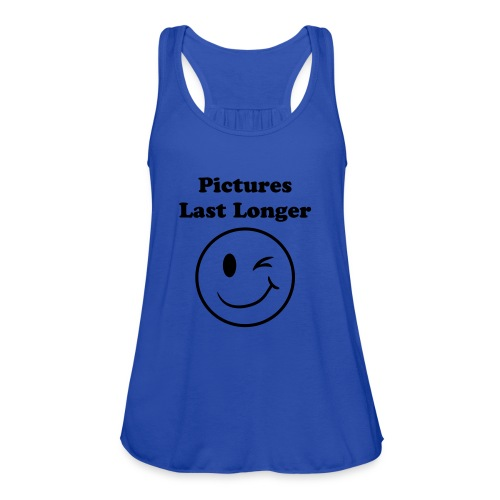 Pictures Tank - Women's Flowy Tank Top by Bella