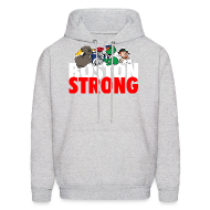 Hoodies ~ Men's Hooded Sweatshirt ~ Boston Strong Mascots12