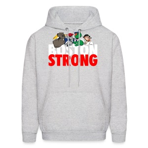 Boston Strong Mascots12 - Men's Hoodie