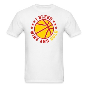 I BLEED WINE AND GOLD - Men's T-Shirt