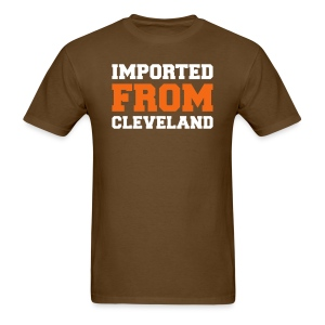 IMPORTED FROM CLEVELAND - Men's T-Shirt