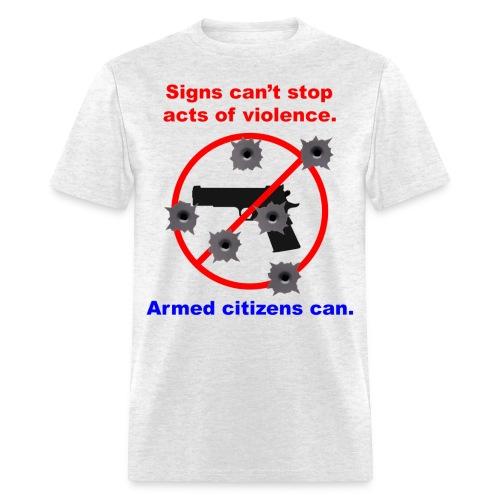 Signs - Men's T-Shirt