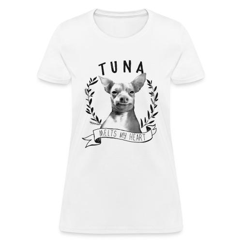 Tunameltsmyheart Crest - Women's T-Shirt