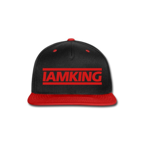 I AM KING - Snap-back Baseball Cap