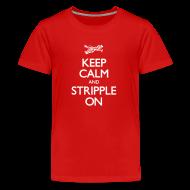 Kids' Shirts ~ Kids' Premium T-Shirt ~ Keep Calm and Stripple On - Kid's