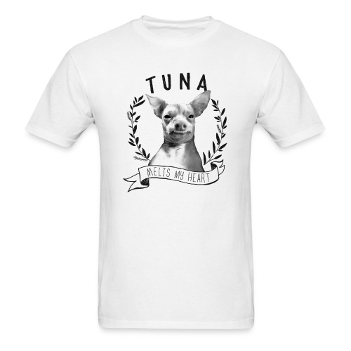 Tunameltsmyheart Crest - Men's T-Shirt