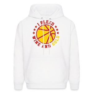 I BLEED WINE AND GOLD - Men's Hoodie