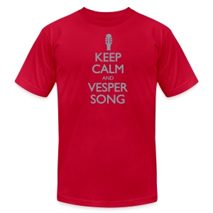 Keep Calm and Vesper Song - Men's - Men's T-Shirt by American Apparel