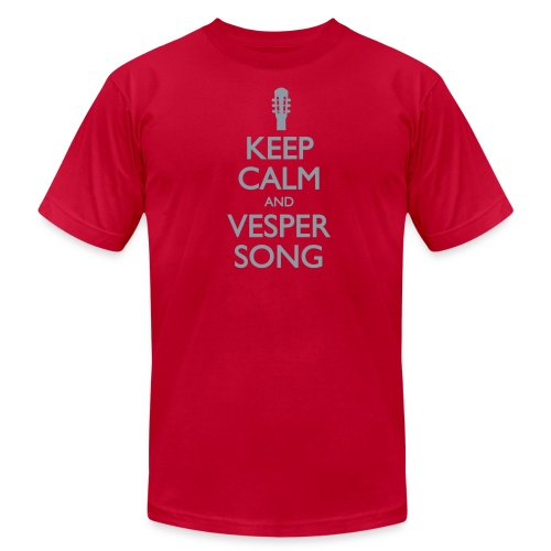 Keep Calm and Vesper Song - Men's - Men's  Jersey T-Shirt