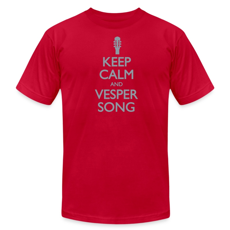 Keep Calm and Vesper Song - Men's - Men's Fine Jersey T-Shirt