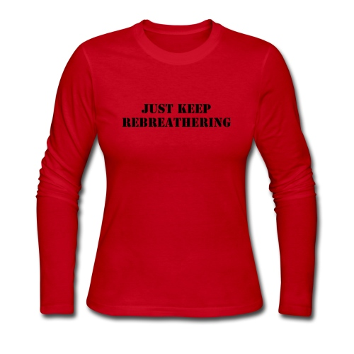 Ladies Long Sleeve Rebreathering Shirt - Women's Long Sleeve Jersey T-Shirt