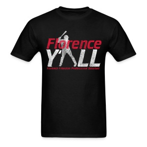 Florence Y'all (red writing) Men's T-shirt - Men's T-Shirt