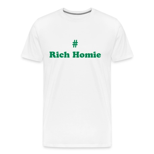 Rich Hommie - Men's Premium T-Shirt