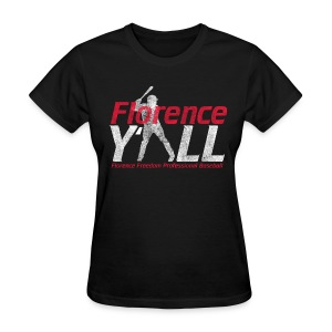Florence Y'all (red writing) Women's Relaxed Fit - Women's T-Shirt