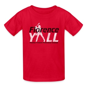 Florence Y'all (black writing) Kids Tee - Kids' T-Shirt