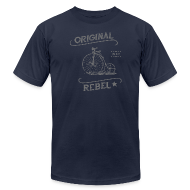 T-Shirts ~ Men's T-Shirt by American Apparel ~ Original Rebel - Men's (gray)