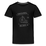 Kids' Shirts ~ Kids' Premium T-Shirt ~ Original Rebel - Kid's (gray)