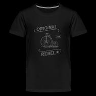 Kids' Shirts ~ Kids' Premium T-Shirt ~ Original Rebel - Kid's (gray)