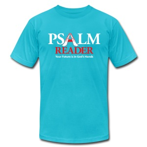 Psalm Reader Shirt - Men's T-Shirt by American Apparel